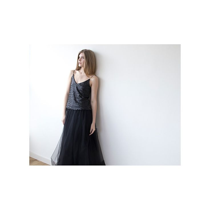 Black Maxi Tulle Skirt , Dramatic Black ,Evening Skirt ,Party Skirt , Long Black Tulle Skirt , Tulle Skirt For Adults