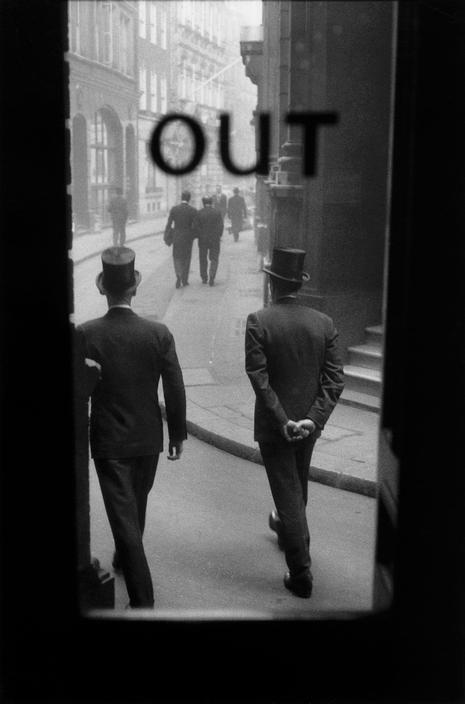 Sergio Larrain GB. ENGLAND. London. The City. 1958-1959.