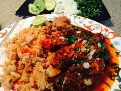 Birria De Res / Beef Birria (How To)  Here is a collab video Abuela and my mom made.  It takes some time but so worth it.
