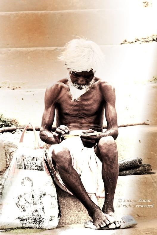 Working by the Ghaats - Varanasi