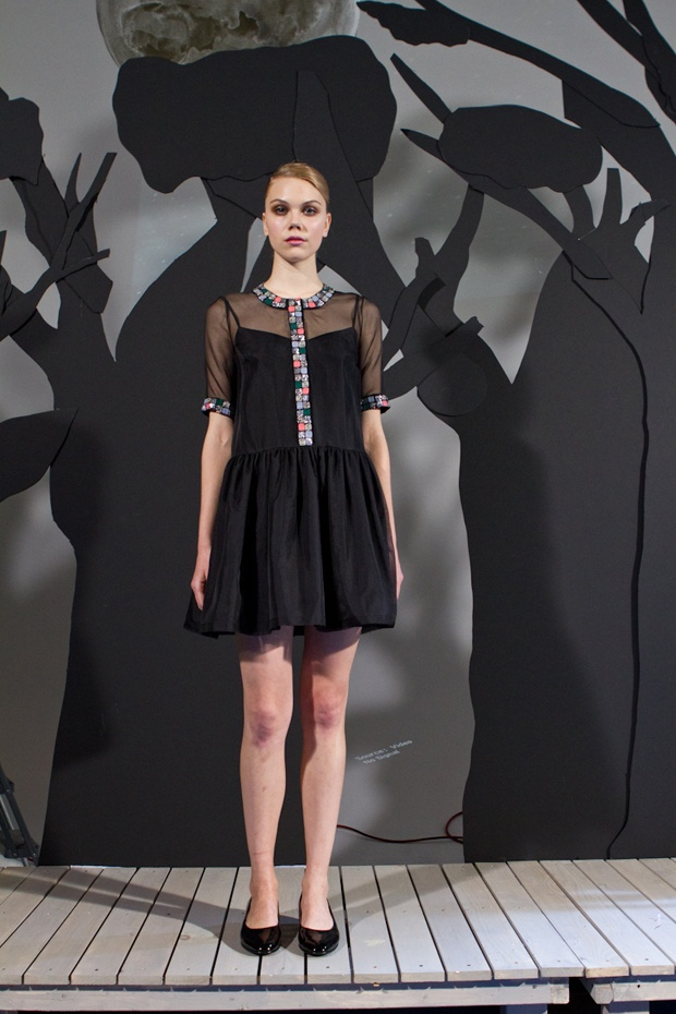 Rachel Antonoff Fall 2012 by Fashionista