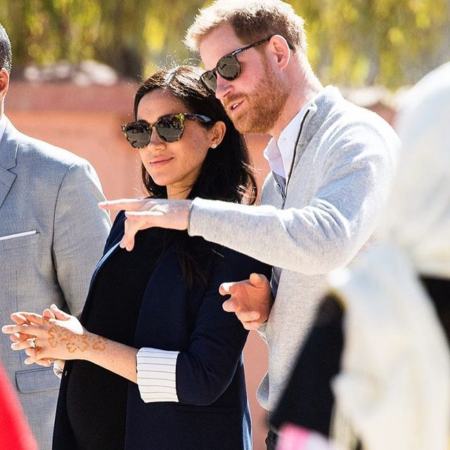 """Meghan På Instagram: """"If Baby Sussex Is Born This Month He"""