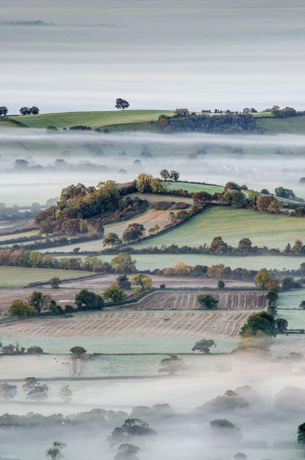 Autumn in Somerset, England.