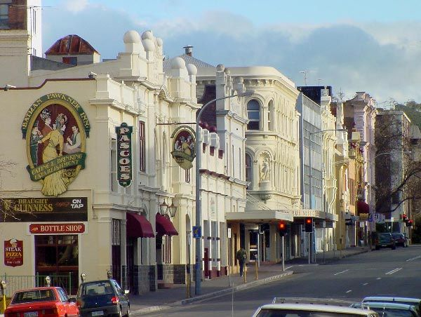 #Launceston street-scape, photo by Dan Fellow. Article by Len Langan for www.think-tasmania.com