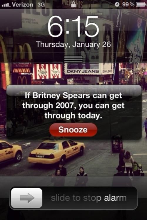 oh, britney: Remember This, Alarm Clocks, Quote, Mornings Motivation, Wake Up, So True, So Funny, True Stories, Britney Spears