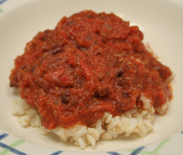 Sicilian Beans and Rice - Inspired by my husband's heritage. You can't go wrong with Italian!