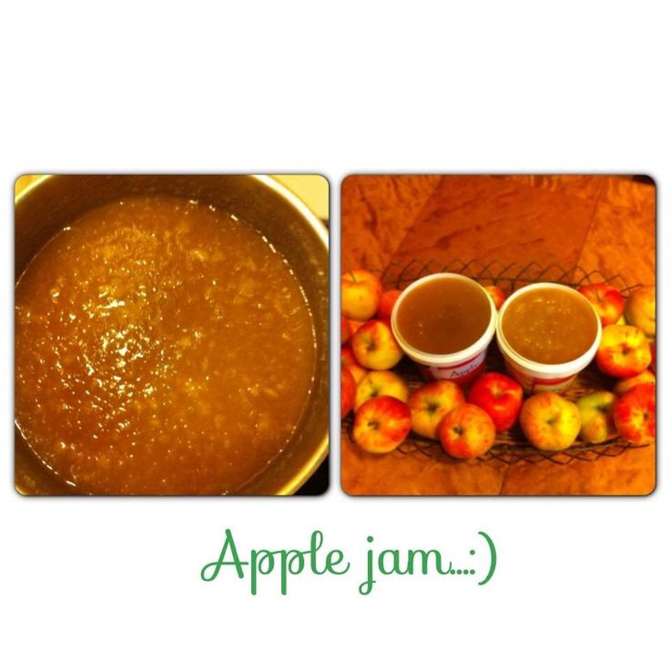 Apple jam is one of my favorite,