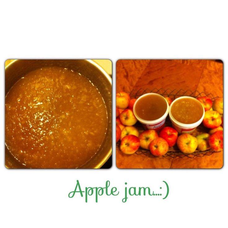 Apple jam is one of my favorite,