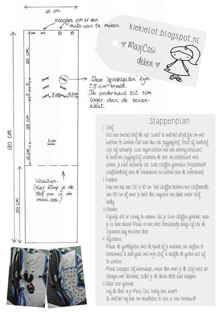Kiekielot...: MaxiCosi dekentje (gratis patroon)