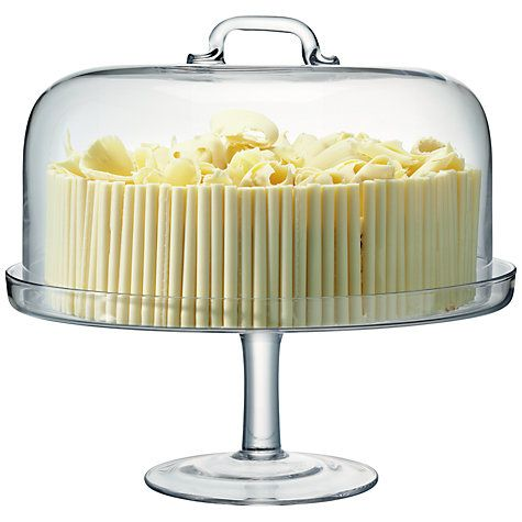 Buy LSA International Serve Cakestand & Dome Online at johnlewis.com
