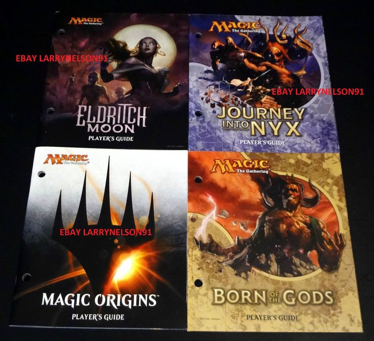 MTG JOURNEY INTO NYX MAGIC ORIGINS ELDRITCH MOON BORN OF THE GODS PLAYERS GUIDE  #MTG