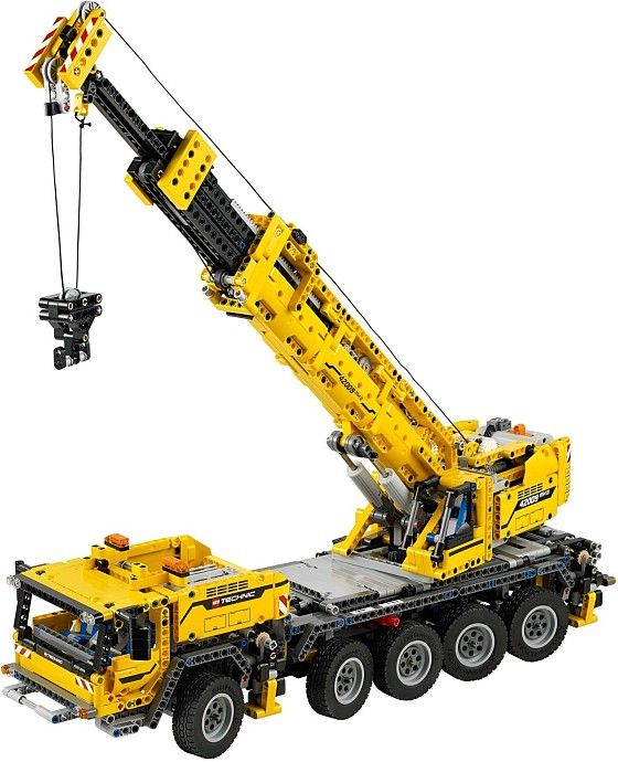 Lego Technic 42009: Mobile Crane MK II. Have this. Still haven't decided whether to modify it or leave it as is?