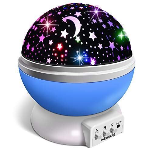 veilleuse enfant lampe projecteur 360 rotation romantique. Black Bedroom Furniture Sets. Home Design Ideas