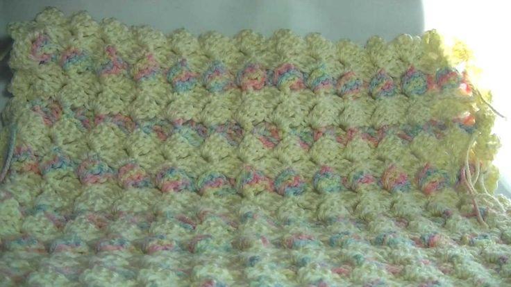 Double Stitch Crochet Afghan Pattern
