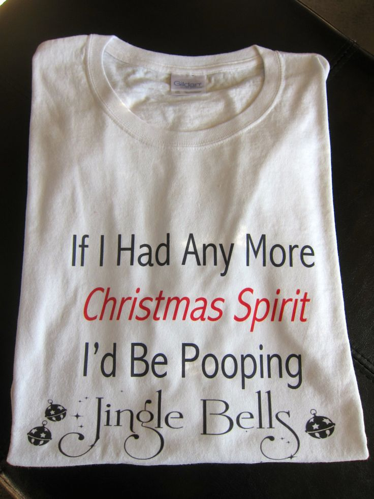 If I had anymore Christmas spirit I'd be pooping Jingle Bells... funny christmas shirt christmas pajamas by GlitterGirlsShopLLC on Etsy