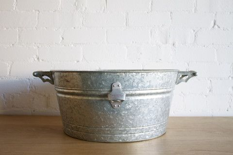Galvanised Drinks Tubs