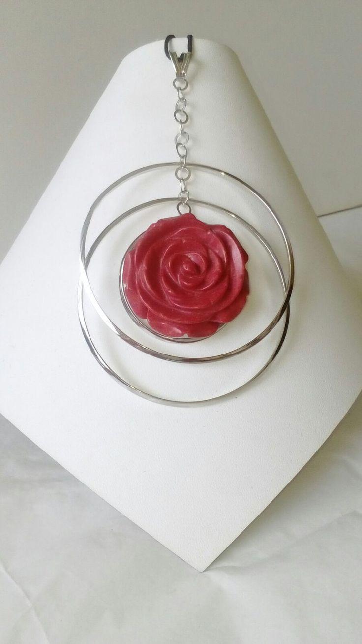 rosa rossa di Porcellato1967 su Etsy