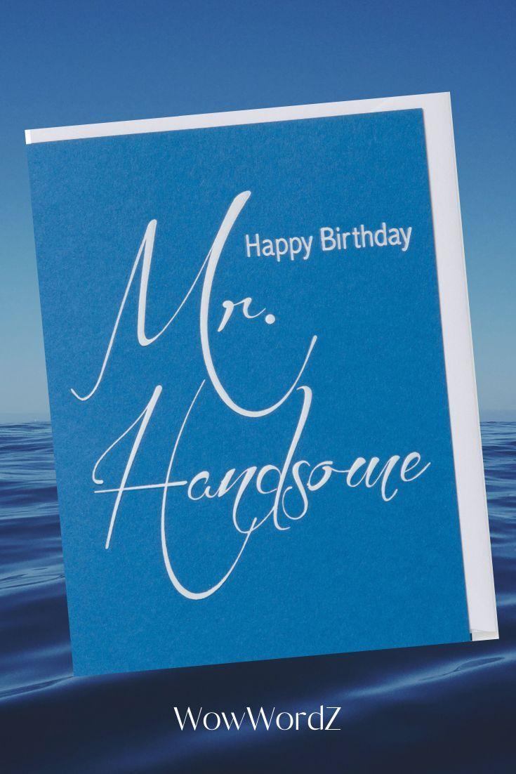 Foil Embossed Birthday Card By Wowwordz Birthday Cards For Men Birthday Cards Happy Birthday Cards