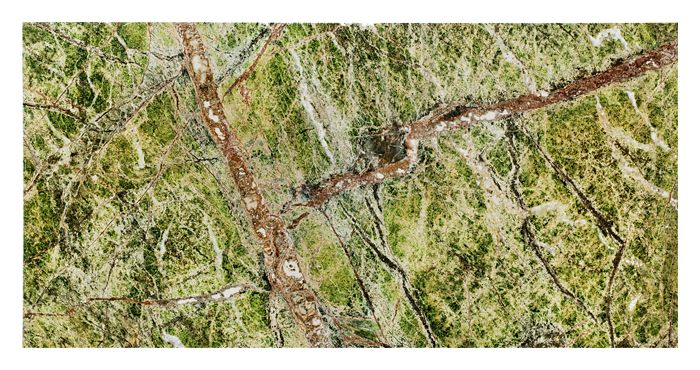 Płytka kamienna Zen - Dunin - Rainforest Green GP