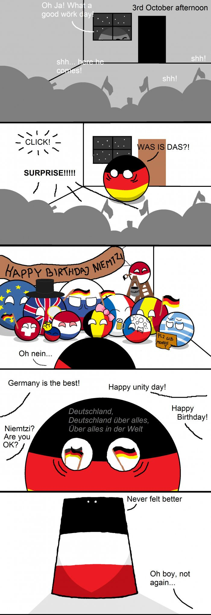 It's not the 3rt October, but it's still funny :D<<<HAHAHHAHAHA ONE OF THE COUNTRIES WERE DOING CRACK