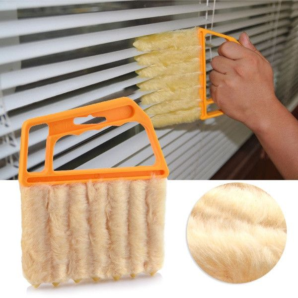 Vertical Window Blinds Brush Cleaner Mini 7 Shape Hand Held Magic Brush Novelty Households-in Cleaning Brushes from Home & Garden on Aliexpress.com | Alibaba Group