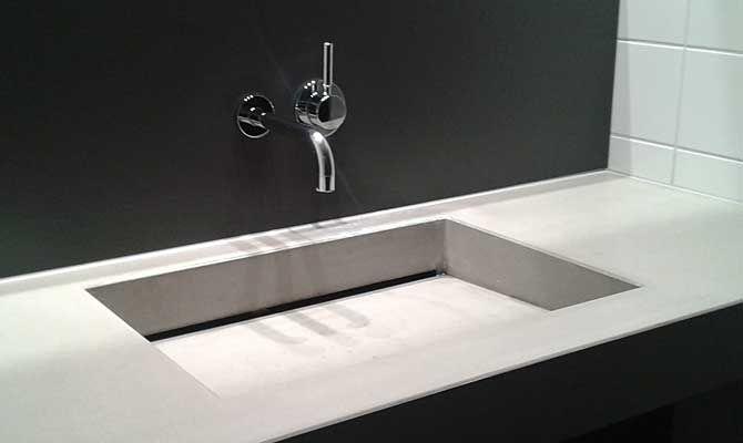 """Waschtisch aus Beton """"VENOSA"""" - Form in Funktion"""