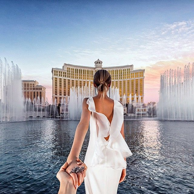 Follow me couple - on honeymoon starting in Vegas. 2015