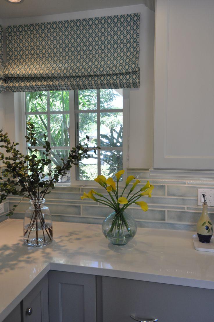 25 best ideas about kitchen window dressing on pinterest for Best window treatments for casement windows