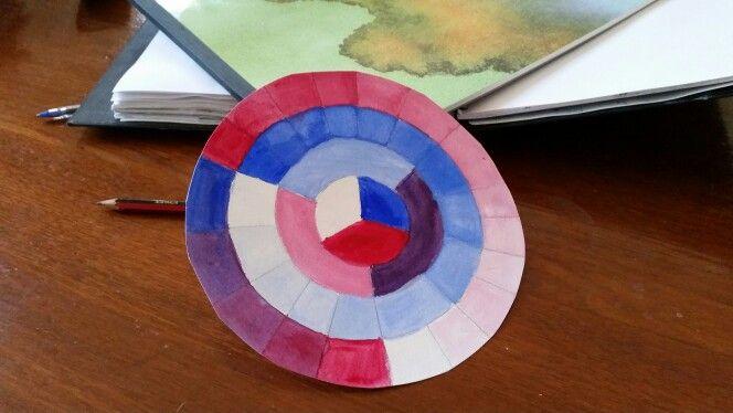 #makingart mixing colour
