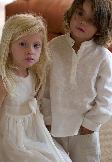 Cortege enfant tartine et chocolat - Costume enfant mariage: costume ceremonie enfant, robe cortege enfant