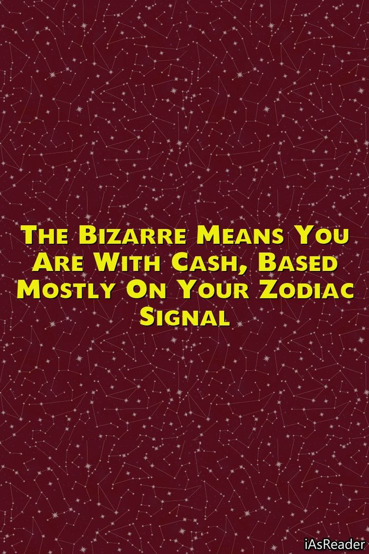 The Bizarre Means You Are With Cash, Based mostly …