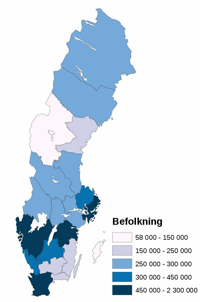 Best Maps Of Sweden Images On Pinterest Maps Sweden And - Sweden map population