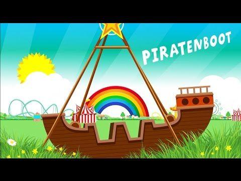 Peuters, Kleuters en Kinderen leren Woorden, Tellen en Kleuren op de Kermis - YouTube