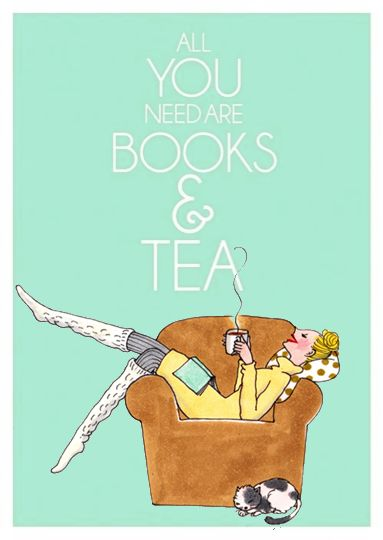 Books & Tea - My Little Book Club