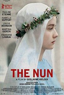 Just watched this French film about a girl forced to become a nun in mid-18th-century France  - beautiful visuals. Now I  want to read the book it was based on. I love it when movies count as research!