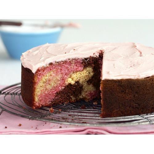 Marble cake recipe - By Australian Women's Weekly