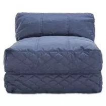 Burkes 1 Seater (Armchair) Blue Fabric Sofa ( Couch ) with  arm Foam seats and  feets for cheap