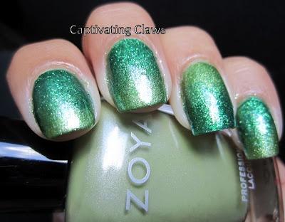 Captivating Claws: A Zoya Gradient: Rainbows Favorite, Nails Art, Blog Coalit, Captivatingclaws Blogspot Com, Captiv Claws, Nails Pretty, Nails Polish, Beautiful Blog, Coalit Pin