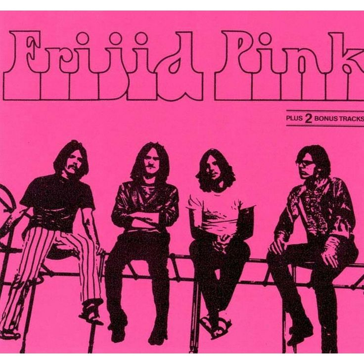 Frijid Pink - Frijid Pink (CD)