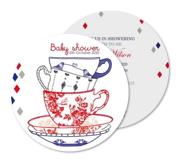 27 best baby baby shower invitations images on pinterest baby cup of tea baby shower invitation filmwisefo Choice Image