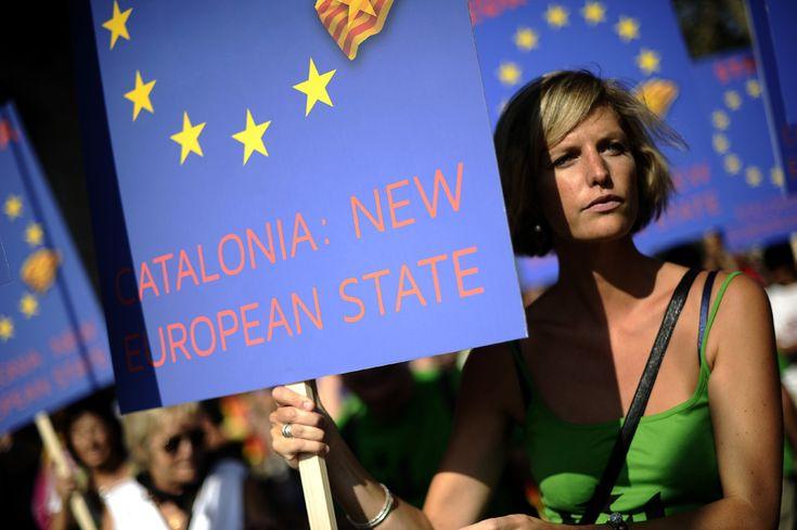 Catalonia: New European State. Diada 2012