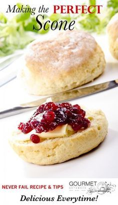 Secrets for Making PERFECT Scones - Gourmet Getaways