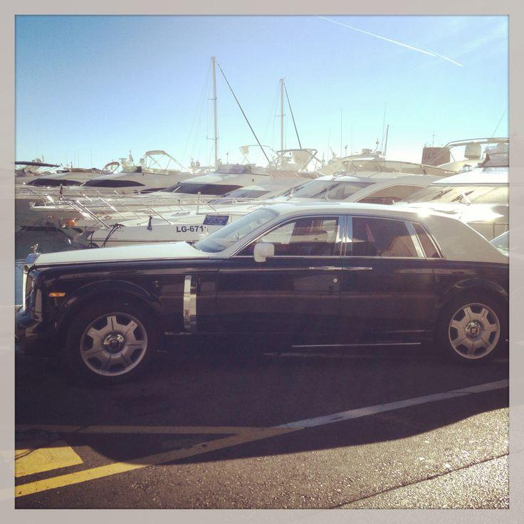 Luxury car at Puerto Banús. Hotel PYR Marbella.