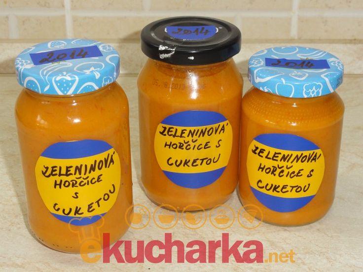 Zeleninová hořčice s cuketou