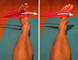 Ankle Exercises - Ankle Inversion vs Resistance Band