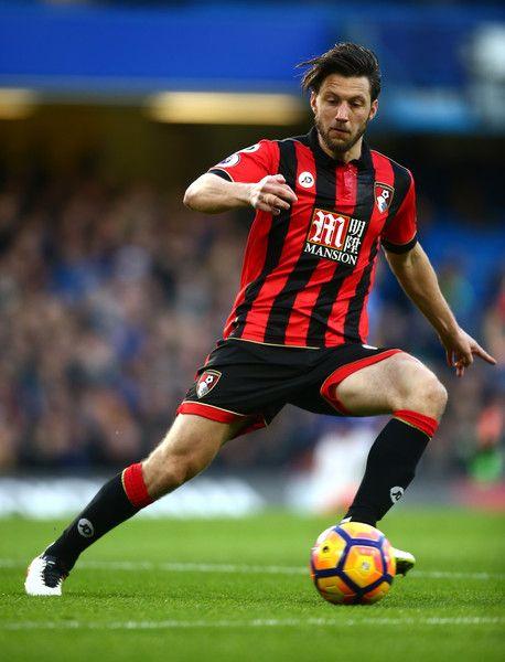 Harry Arter of AFC Bournemouth in action during the Premier League match between Chelsea and AFC Bournemouth at Stamford Bridge on December 26, 2016 in London, England.