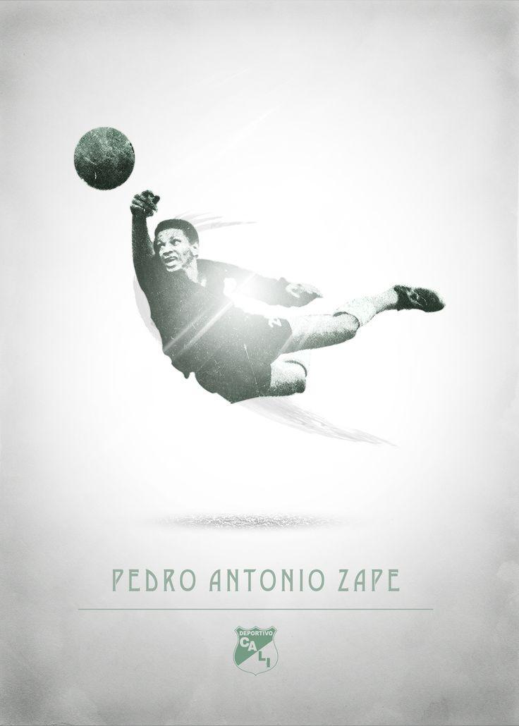Deportivo cali - Pedro antonio zape