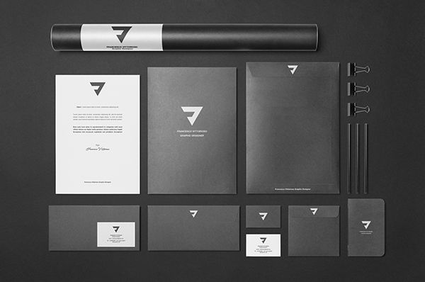 Personal Branding || FV || Minimal Concept on Behance