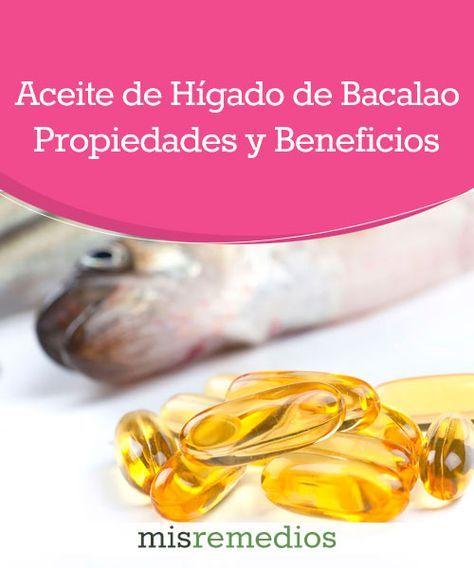 #Aceite de hígado de bacalao - Propiedades y Beneficios #PlantasMedicinales