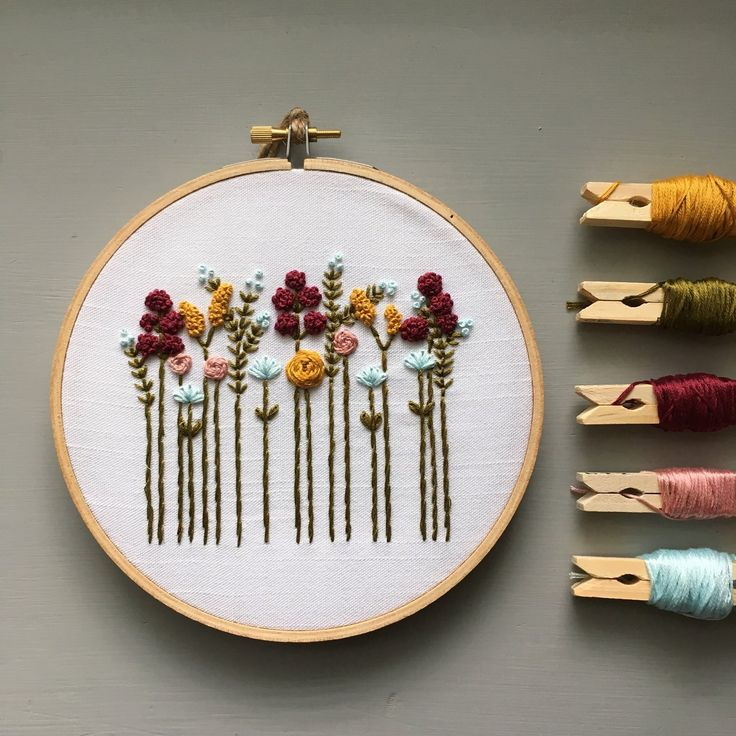 Wildflowers Embroidery Kit – Autumn Vibes – And Other Adventures Embroidery Co